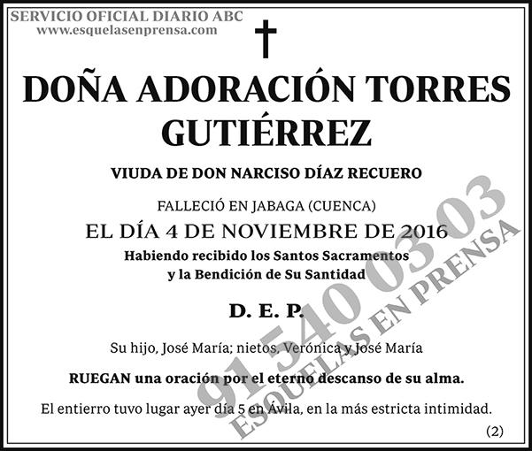 Adoración Torres Gutiérrez